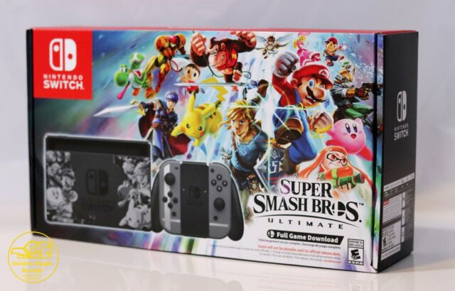 super smash bros ultimate limited edition nintendo switch game