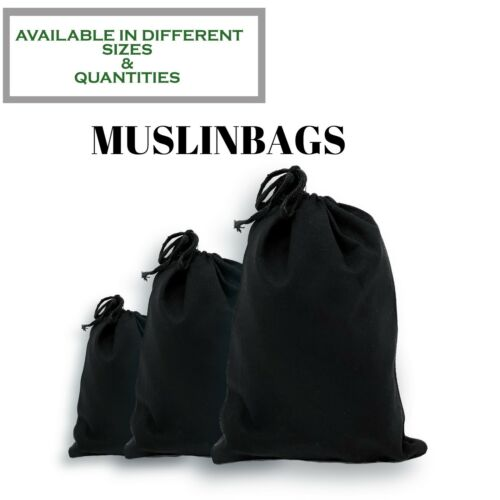 "3/""x4/""/"" inches BLACK Drawstring bags *Eco Choose Quantities friendly* Durable"