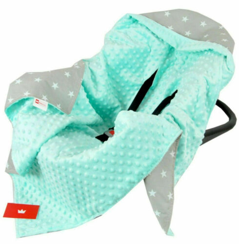 BABY WRAP FOR CAR SEAT CAR SEAT BABY BLANKET NEW All season DOUBLE SIDED