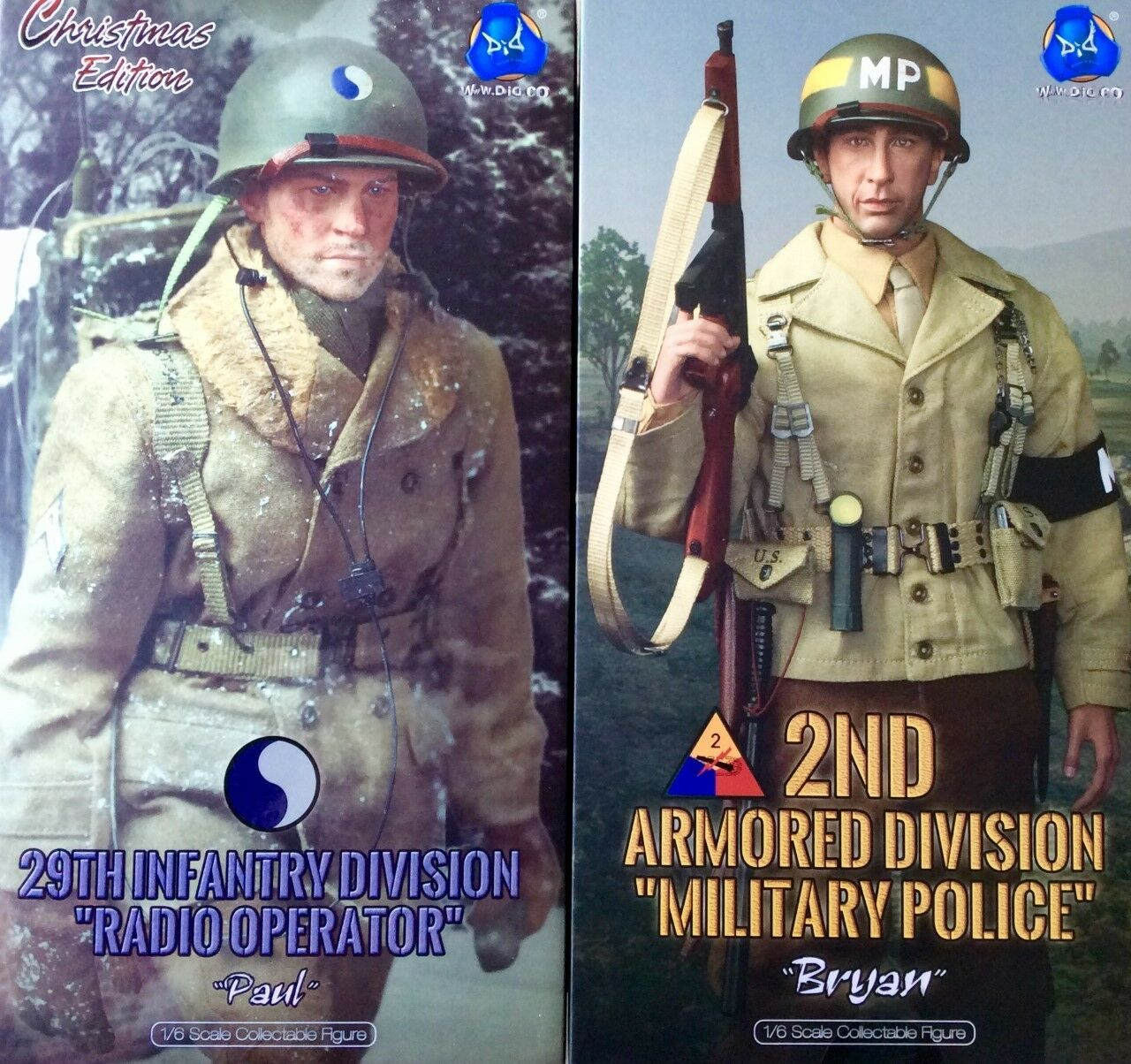 Dual Verpackung N°137 Figurines DID WWII A80115S + DID WWII A80116