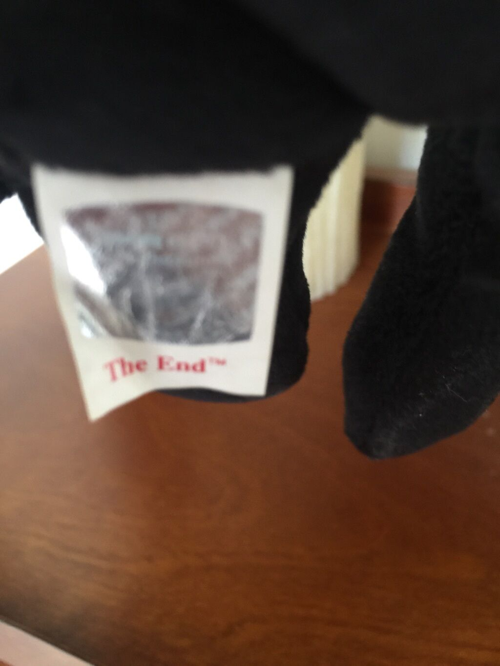 1999 The End Beanie baby w  RARE tag tag tag in mint condition 3c1b0b