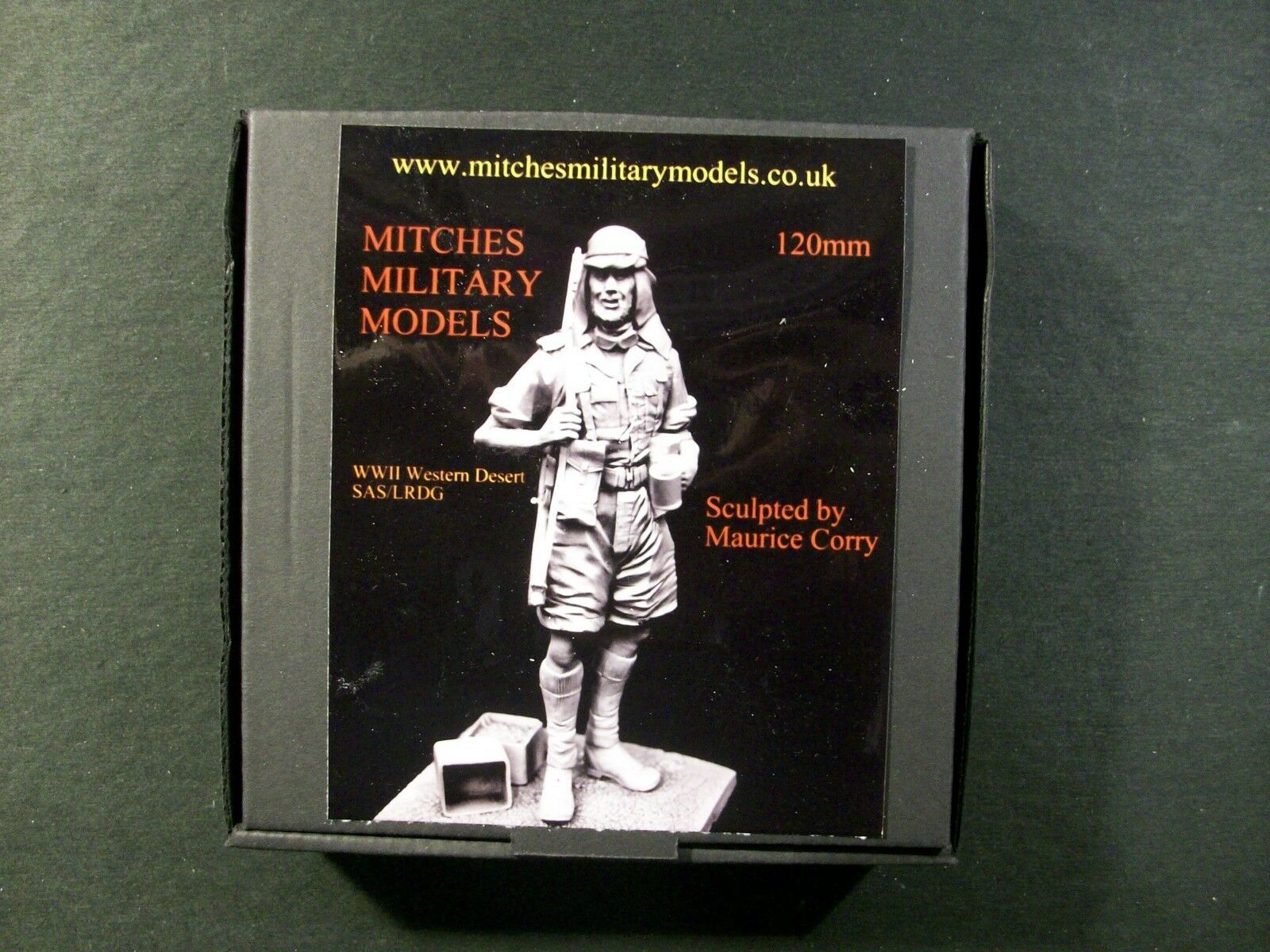 Mitches Military Models - SAS LRDG WWII No. Africa - 120mm  LRDG