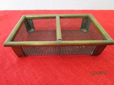 Smart Alter Gitterkorb Für Puppenstube Bzw Metall /s117 Puppenhaus Oder Kaufladen