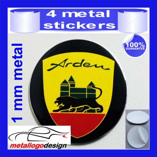METAL STICKERS WHEELS CENTER CAPS Centro LLantas 4pcs JAGUAR ARDEN