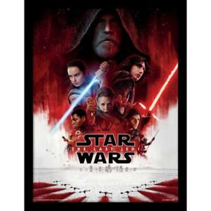 Star-Wars-The-Last-Jedi-Impression-encadree-16-x-12-produit-derive-Officiel