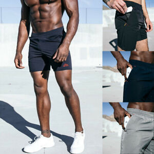 Men-039-s-Summer-Sport-Shorts-Joggers-Training-Casual-Fitness-Gym-Workout-Sweatpants