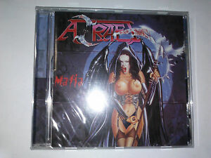 AZRAEL-Mafia-CD-11-tracks-FACTORY-SEALED-NEW-2000-Locomotive