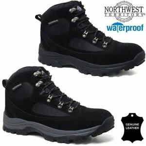4104446e8cc Details about Mens NORTHWEST Leather Walking Hiking Waterproof Ankle Boots  Trainers Shoes Size