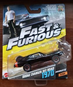 Mattel-Hot-Wheels-Dodge-Charger-Off-Road-1970-Fast-amp-Furious-selten