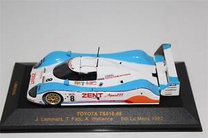 Toyota-TS010-8-Lammers-8th-1992-24h-Le-Mans-Cars-IXO-LMC033-Diecast-1-43