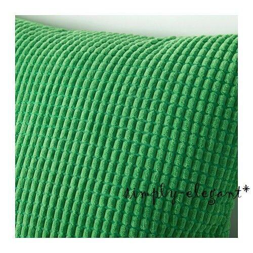 IKEA GULLKLOCKA Cushion Cover Green 40x40 EBay Cool Ikea Euro Pillow Covers