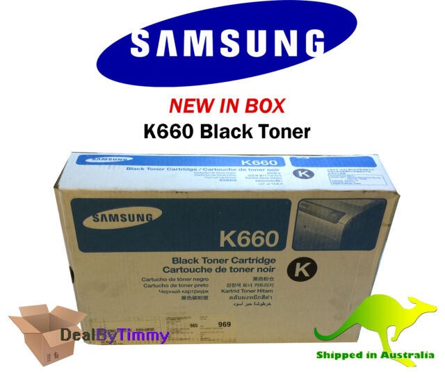 Genuine Samsung M660 [CLP-M660A] Magenta Toner New in Box Free Shipping