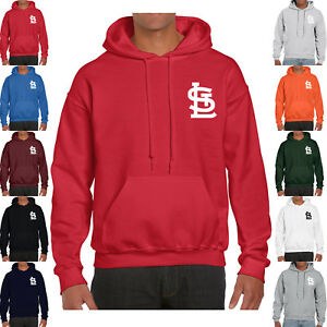 best service f3122 aa506 Details about Mens St Louis Cardinals Hoodie Warm Fleece Pullover  Sweatshirt Team Uniform 0117