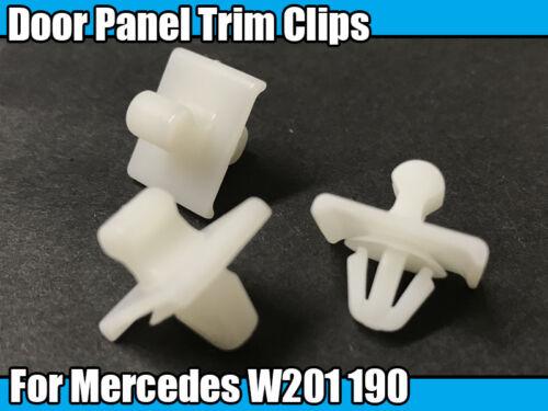 1x porte Côtés Carte Panneau Moulage Interior Trim Clips pour MERCEDES W201 190