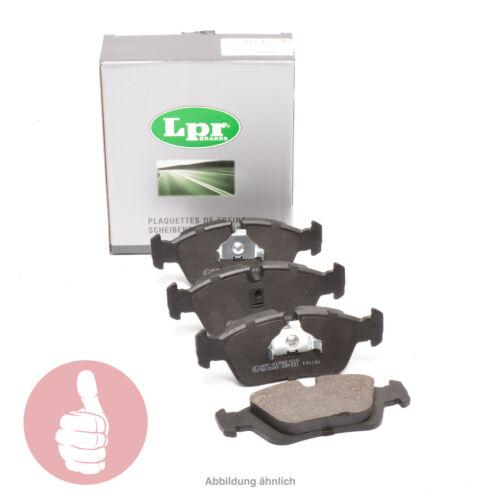 Original LPR Bremsbeläge für vorne Chevrolet Matiz Spark