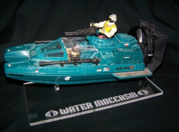 Acrylic display stand for Cobra Serpentor air chariot vintage /& 25th GI Joe