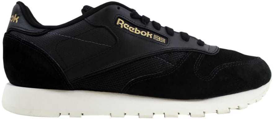 Reebok Classic Leather ALR Noir/Chalk-Ash  Gris -Brass BS5243 Homme SZ 8.5