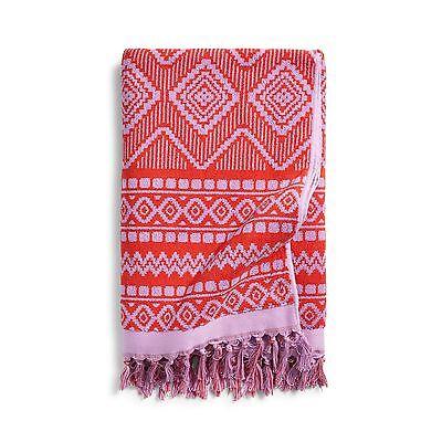Vera Bradley Tassel Beach Towel