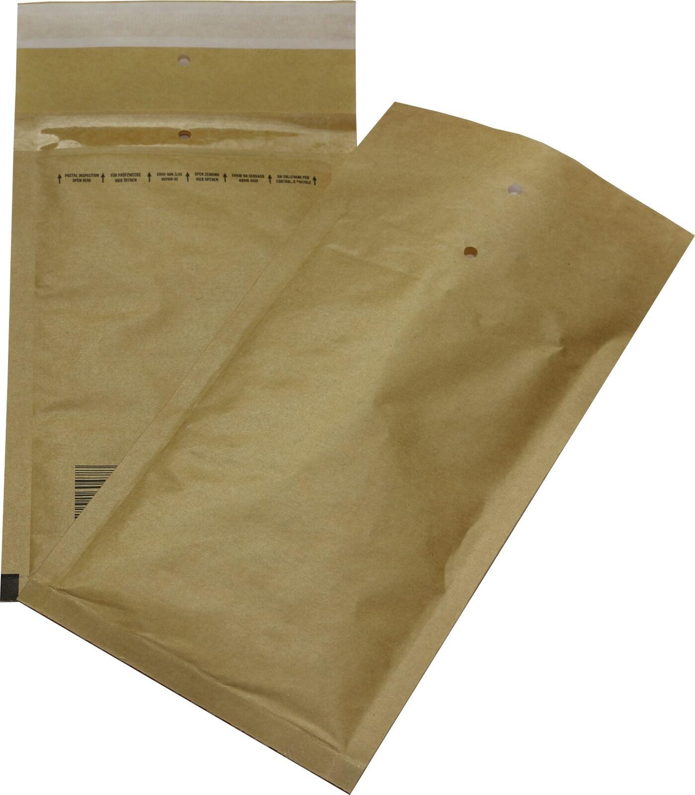 1800 ST bulles d'air poches T 2 B 140x225 Marron 140x225 B Enveloppes DIN a6+ c6 5a1aef