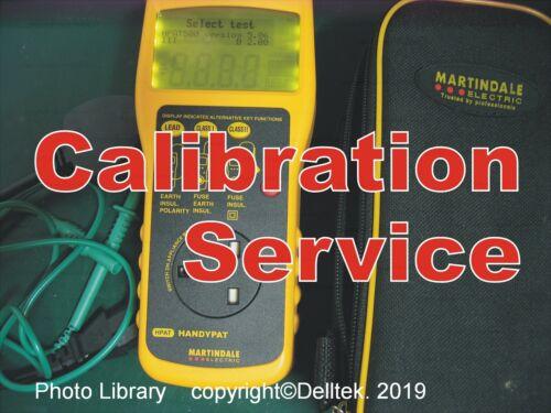 Calibration Service Pat Tester Martindale Pat500 Pat600 FastReliable Turnaround