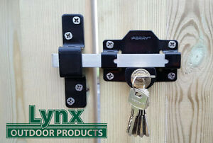 Garden Gate Locks