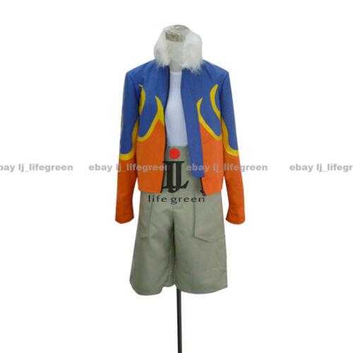 Digimon Adventure Daisuke Motomiya Davis Motomiya Uniform Cosplay Costume