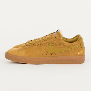 classic fit 397f4 8603b Image is loading Supreme-SB-Blazer-Low-GT-FW16-box-logo-