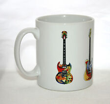 Guitar Mug. 5 Famous Stratocasters #1
