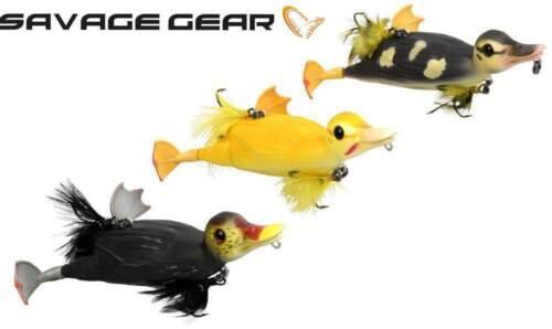 Hecht Wobbler Raubfische Savage Gear 3D Suicide Duck 10,5cm-28g Angeln Köder