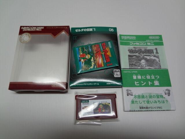 Famicom Mini Zelda no Densetsu Nintendo Game Boy Advance Japan