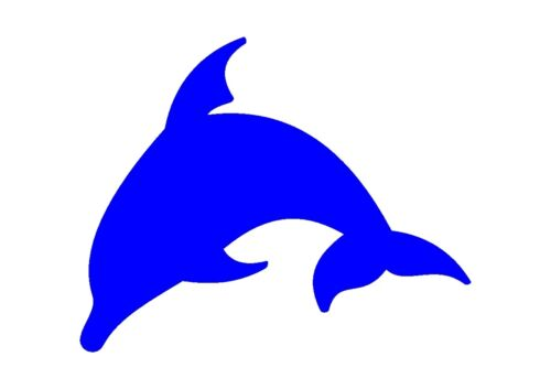 Leaping Dolphin  stencil 350 micron Mylar not thin stuff  #TaT0039