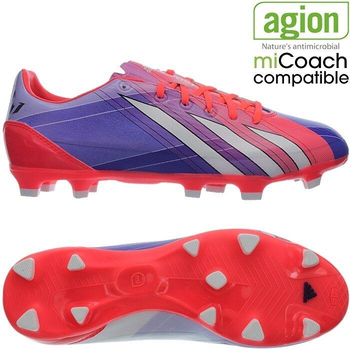 Adidas F30 Trx Fg Messi Hombre botas de fútbol zapatos Rojo blancoo Negro Op Nueva