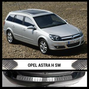 Pour Opel Astra H 5 V 2004-2010 chargement en acier inoxydable chrome