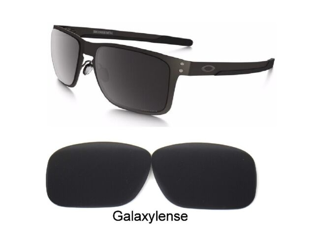 cb4cac218a Galaxy Replacement Lenses For Oakley Metal Holbrook Metallic Black Polarized