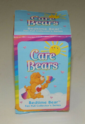 15 Units Care Bear Bedtime Bear Figure Case With Fan Pull Chain
