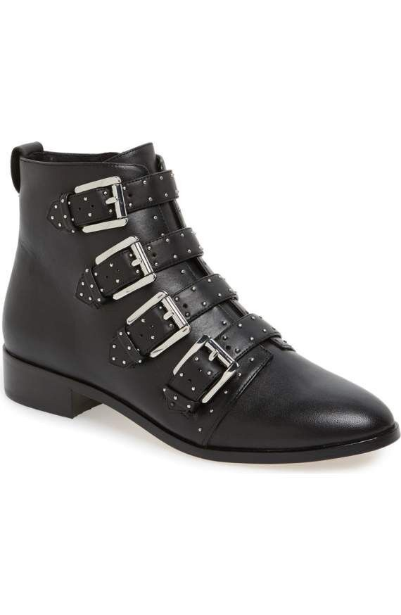 Rebecca minkoff black motorcycle boots, Size 9,5  295