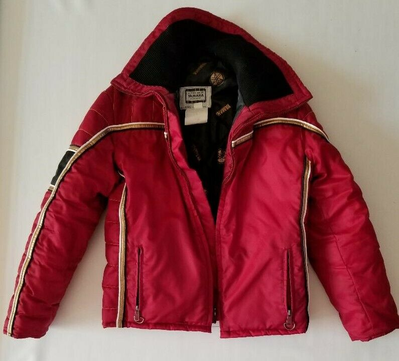 Yamaha  Vintage Red Snowmobile Coat and Pants Ladies Medium  sale online save 70%