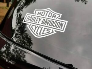 Harley Davidson Decal Motorcycle Logo Truck Rear Window Bumper Sticker