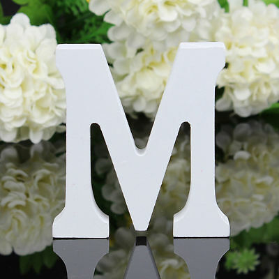 Freestanding Wood Wooden Letters Alphabet Bridal Wedding Party Home Decorations