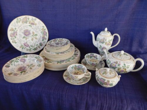 Wedgwood Avon BREAD PLATE LOT of TWO 2 have more items to this set