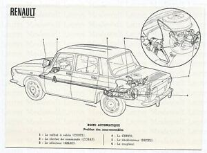 RENAULT-R-10-Automatik-Automatikgetriebe-Grafik-Photo-Photograph-Auto-Foto