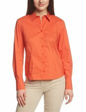 GERRY WEBER Bluse 48 NEU UVP99€ Hemdbluse Shirt Tunika orange  apart 96053 14