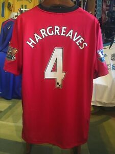 Details about Owen Hargreaves 2009/10 Manchester United XL jersey with champ patches Excellent
