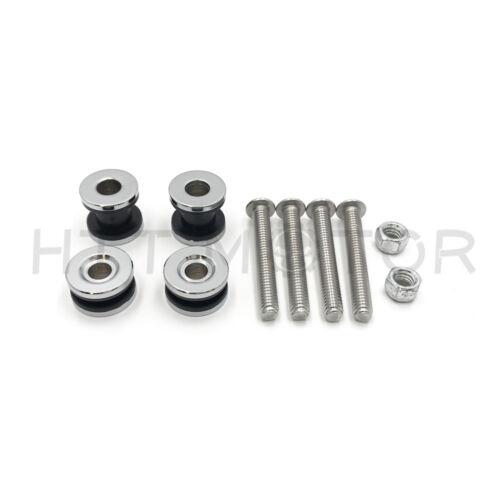 Detachable Sissy Bar Docking Hardware Kit For Harley Sportster XL 1200 883 04-17