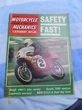 motorcycle mechanics(july71)T500/LambrettaGP200/T25/Greeves/TC120/Montessa 247/