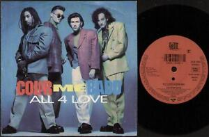 COLOR-ME-BADD-All-4-Love-7-034-Ps-Album-Mix-B-W-All-4-Street-Mix-With-Rap-W-0053