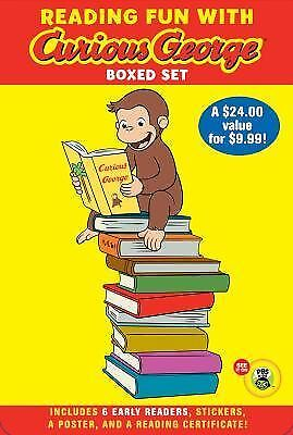 Green Light Readers Level 1 Ser.: Reading Fun with Curious George Boxed Set...