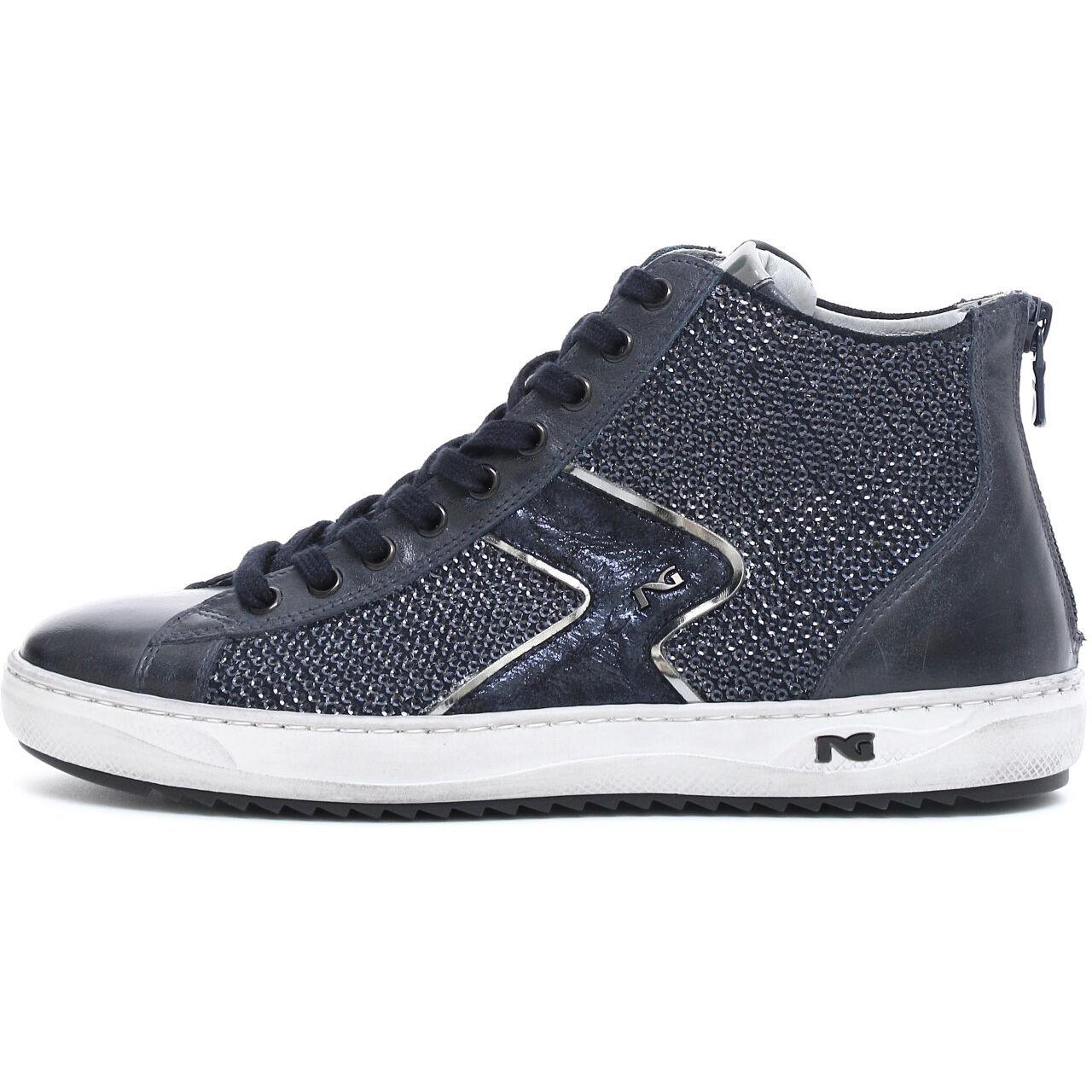 Cómodo y bien parecido Barato y cómodo Sneaker scarpa sportiva Nerogiardini A719500D NUOVA COLLEZIONE 2017 zip