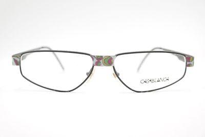 Affidabile Vintage Casablanca By Trend Company 5075 58 [] 15 130 Nero Ovale Occhiali Nos-mostra Il Titolo Originale