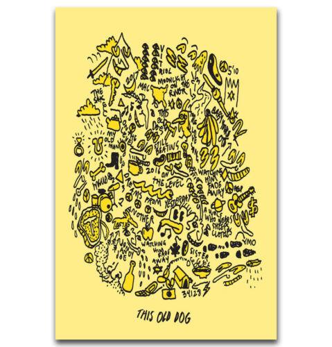 "Art Hot Mac DeMarco Post PUNK Old Dog Poster 24x36/"" 27/"" P-1409"